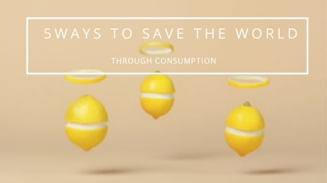 5ways to save the world